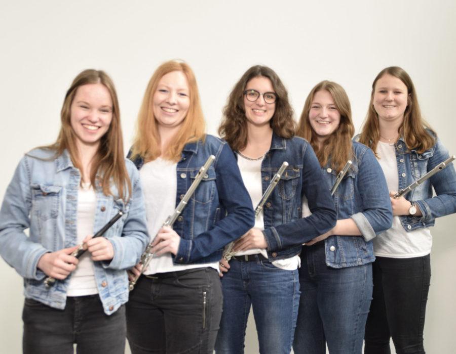 Langenberger Blaskapelle - Die Querflöten