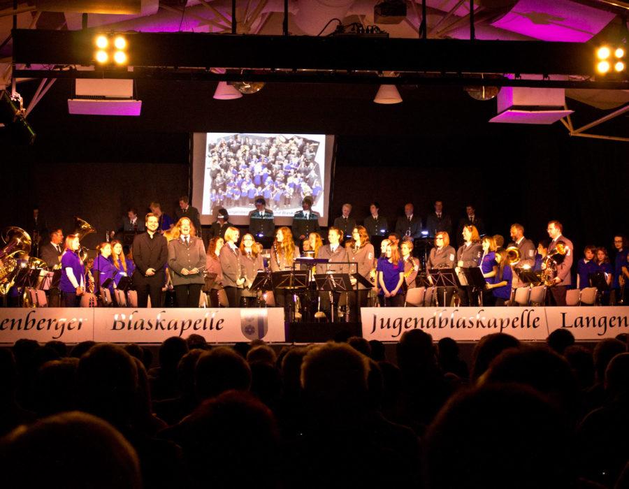 Langenberger Blaskapelle - Konzert mit der Jugendblaskapelle im Reethus