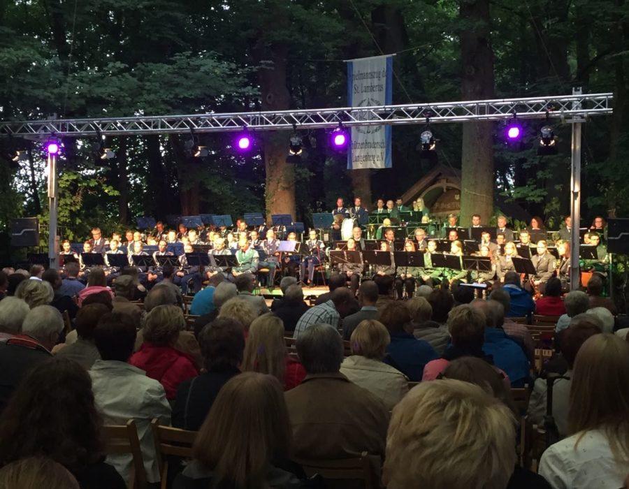 Langenberger Blaskapelle - Konzert mit dem Spielmannszug Langenberg