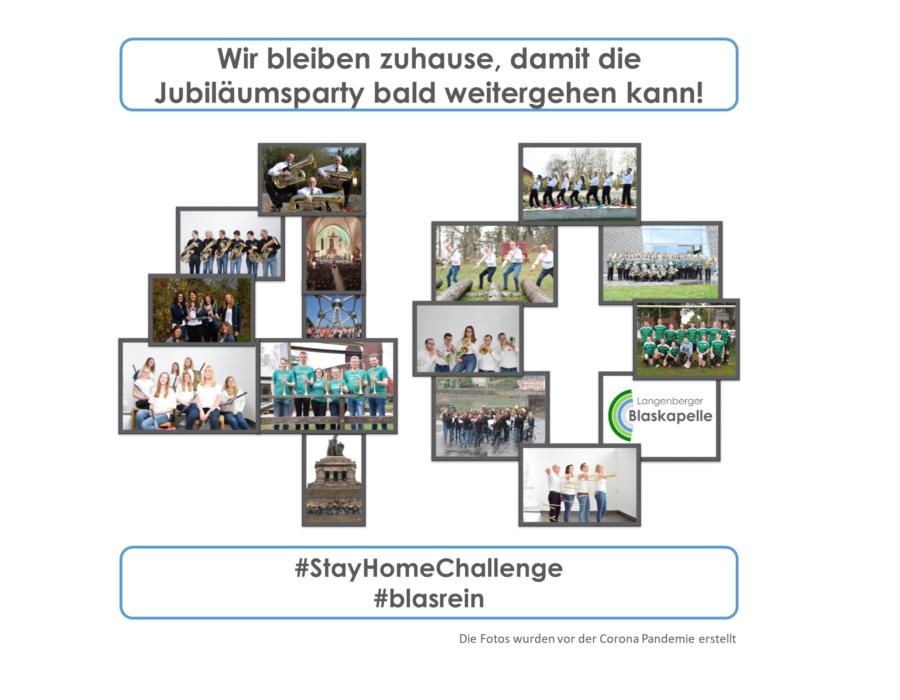 Langenberger Blaskapelle - #Wir bleiben zuhause!